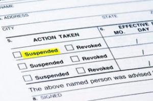 Suspended Ticket