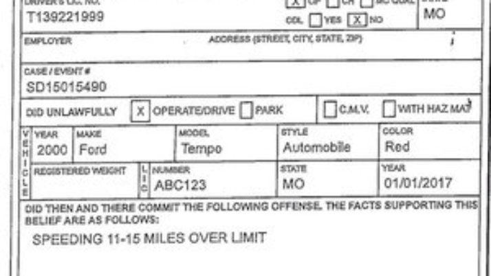 Traffic Ticket Urban Legends Part 1: error on speeding ticket gets it dismissed.